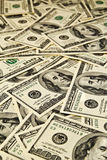 Dólares do dinheiro Foto de Stock
