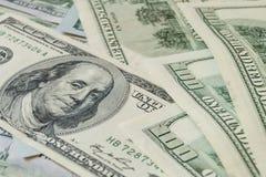 Dólares do dinheiro Foto de Stock Royalty Free