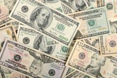 Dólares do fundo Foto de Stock Royalty Free