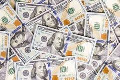 Dólares do fundo Imagens de Stock Royalty Free