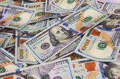 Dólares do fundo Fotografia de Stock