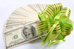 Dólares do ventilador Foto de Stock Royalty Free