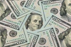 Dólares en un círculo Foto de archivo libre de regalías