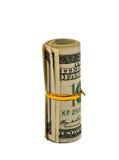 Dólares isolados foto de stock royalty free