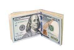 Dólares isolados Fotos de Stock