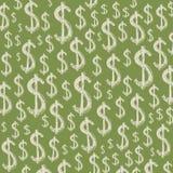 Dólares verdes de antecedentes Imagenes de archivo