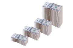 Dólares y finanzas Imágenes de archivo libres de regalías