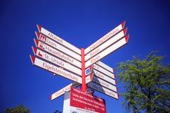 ¿Dónde debemos ir? Fotos de archivo libres de regalías