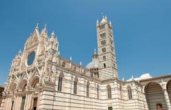 Dôme à Sienne Image libre de droits