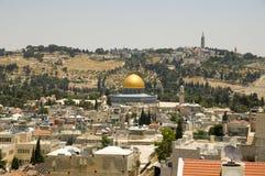 Dôme d'EL Akza, vieille ville de Jérusalem Images stock