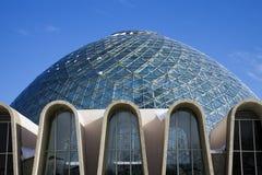 Dôme d'un jardin botanique à Milwaukee photos libres de droits