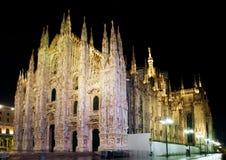 Dôme de cathédrale de Milan image libre de droits