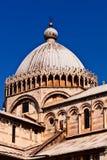 Dôme de cathédrale, Pise. Images stock
