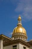 Dôme de Chambre d'état du New Jersey Image libre de droits
