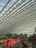 Dôme de fleur aux jardins par la baie Singapour Photos libres de droits