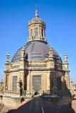 Dôme de l'université pontificale Salamanque photographie stock