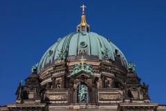 Dôme de la cathédrale allemande à Berlin Image stock