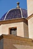 Dôme de la Co-cathédrale d'Alicante (Espagne) Image libre de droits