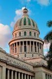 Dôme de la construction de capitol à La Havane, Cuba Photographie stock libre de droits