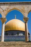 Dôme de la roche à Jérusalem Photographie stock libre de droits