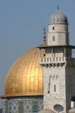 Dôme de la roche, support de temple Photos libres de droits