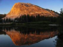 Dôme de Lembert au coucher du soleil Photographie stock