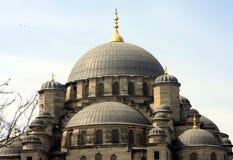 Dôme de mosquée neuve à Istanbul Photographie stock libre de droits