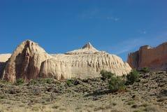 Dôme de Navajo en récif de capitol photo libre de droits