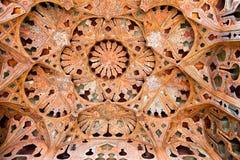 Dôme de palais d'Ali Qapu, Esfahan, Iran Photos stock