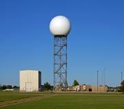 Dôme de radar Doppler Photo libre de droits