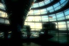 Dôme de Reichstag - Berlin Photos libres de droits