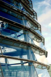 Dôme de Reichstag - vue d'extérieur Photo stock