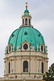 Dôme du Karlskirche (église de rue Charles) Photographie stock