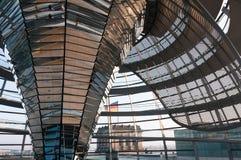 Dôme du Reichstag images libres de droits