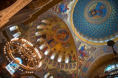 Dôme du temple Photos stock