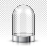 Dôme en verre vide illustration de vecteur