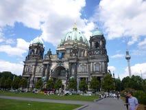 Dôme et tour de TV à Berlin Image libre de droits
