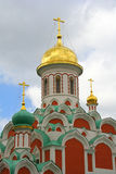 Dôme russe d'église Photos libres de droits