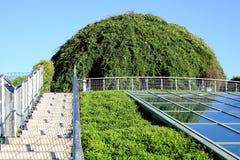 Dôme vert. Photo stock