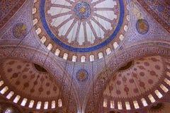 Dômes bleus de mosquée Photo libre de droits