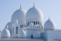 Dômes d'une mosquée Photo libre de droits