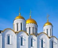 Dômes de cathédrale de supposition Photos stock