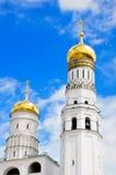 Dômes de l'Ivan la tour de Bell grande Images stock
