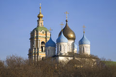 Dômes de monastère Photo libre de droits