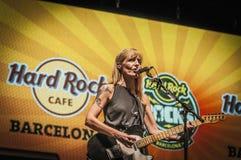 Dôvar executa no La Merce das rochas do hard rock fotos de stock royalty free