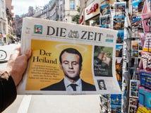 Dö zeit som anmäler nolla för invigning för överlåtelseceremoni presidents- Royaltyfria Bilder