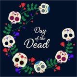 död dag royaltyfri illustrationer