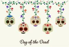 död dag stock illustrationer