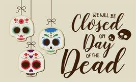 död dag vektor illustrationer