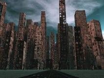 Död stad Arkivfoto